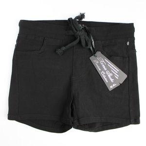 5/$25 Roma Studio Premier Collection Black Shorts